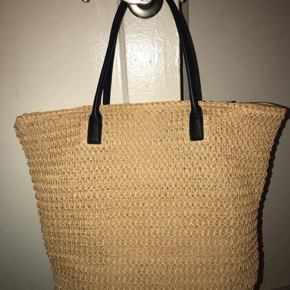 H&M Handbags - Straw Tote